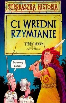 Okładka książki Ci wredni Rzymianie