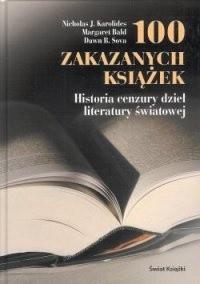 Okładka książki 100 zakazanych książek