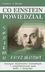 Okładka książki Co Einstein powiedział swojemu fryzjerowi