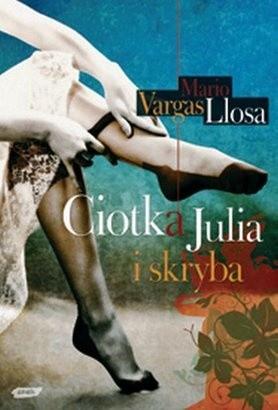 Okładka książki Ciotka Julia i skryba