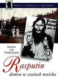 Okładka książki Rasputin, demon w szatach mnicha