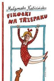Okładka książki Fikołki na trzepaku. Wspominki z podwórka i nie tylko