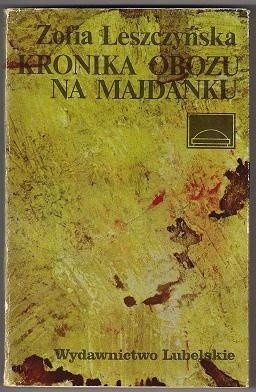 Okładka książki Kronika Obozu na Majdanku