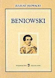 Okładka książki Beniowski. Poema