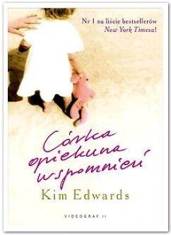 Okładka książki Córka opiekuna wspomnień