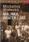 Okładka książki Malinka, Bratek i Jaś