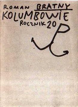 Okładka książki Kolumbowie Rocznik 20