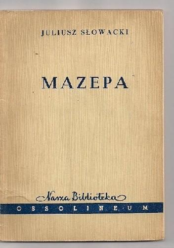 Okładka książki Mazepa. Tragedia w pięciu aktach