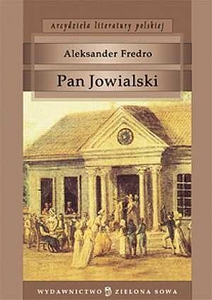 Okładka książki Pan Jowialski