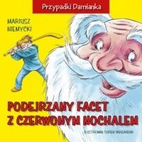 Okładka książki Podejrzany facet z czerwonym nochalem