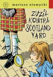 Okładka książki Zuzia kontra Scotland Yard