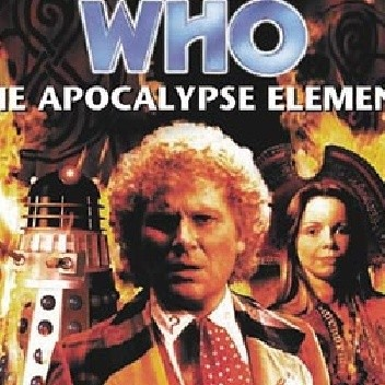 Okładka książki Doctor Who: The Apocalypse Element