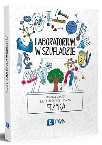 Okładka książki Laboratorium w szufladzie. Fizyka