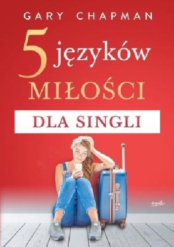 Okładka książki 5 języków miłości dla singli