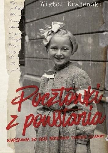 Okładka książki Pocztówki z powstania