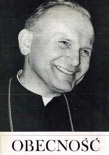 Okładka książki Obecność Karol Wojtyła w Katolickim Uniwersytecie Lubelskim