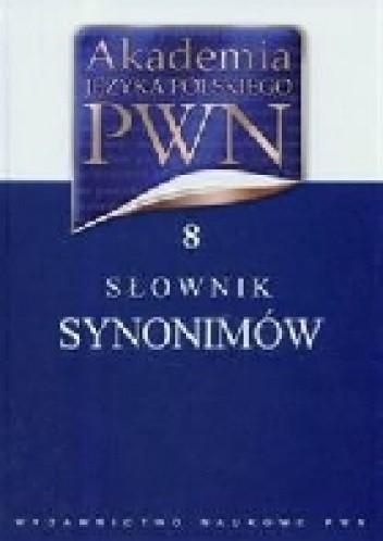Okładka książki Słownik synonimów