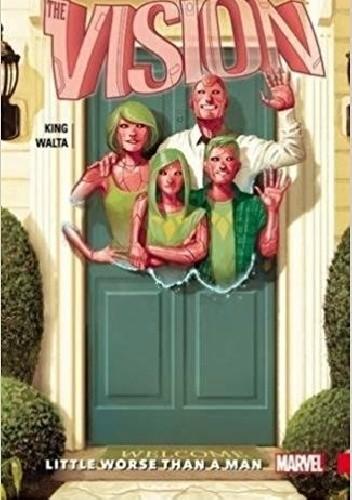 Okładka książki Vision Vol. 1: Little Worse Than A Man