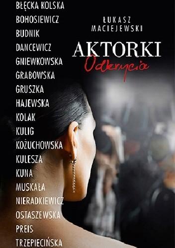 Okładka książki Aktorki. Odkrycia