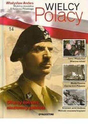 Okładka książki Władysław Anders Wybitny dowódca II Korpusu Polskiego