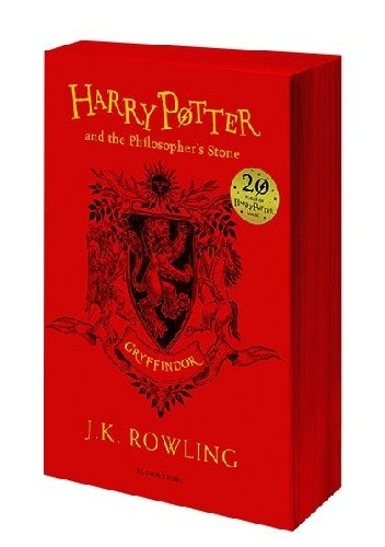 Okładka książki Harry Potter and the Philosopher's Stone – Gryffindor Edition
