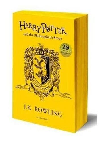 Okładka książki Harry Potter and the Philosopher's Stone – Hufflepuff Edition