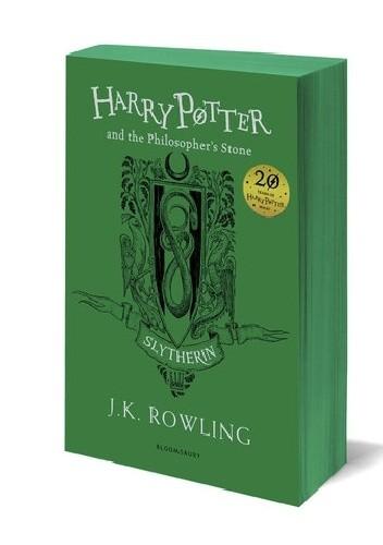 Okładka książki Harry Potter and the Philosopher's Stone – Slytherin Edition