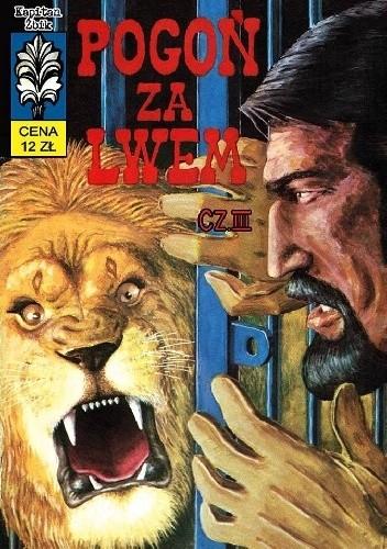 Okładka książki Pogoń za lwem