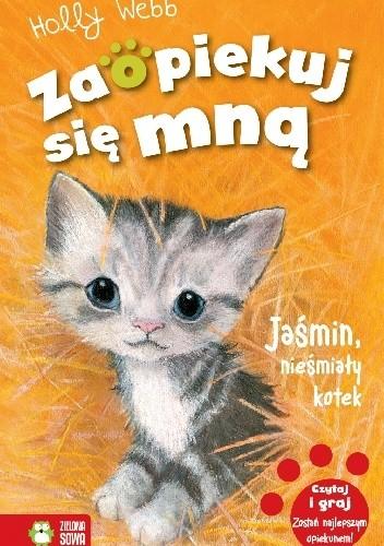 Okładka książki Jaśmin, nieśmiały kotek