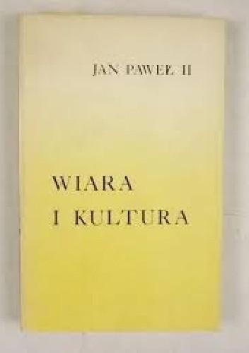 Okładka książki Wiara i kultura