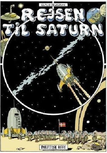 Okładka książki Rejsen til Saturn