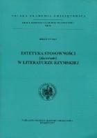 Estetyka stosowności (decorum) w literaturze rzymskiej
