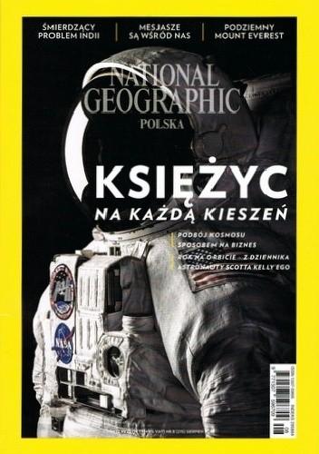 Okładka książki National Geographic 08/2017 (215)