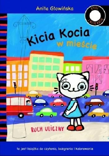 Okładka książki Kicia Kocia w mieście