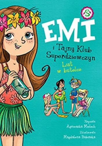 Okładka książki Emi i Tajny Klub Superdziewczyn. Tom 8. List w butelce