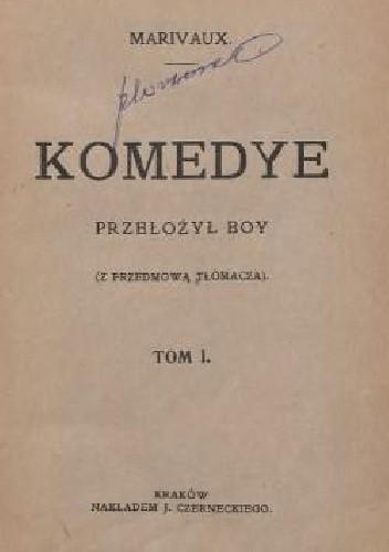 Okładka książki Komedye. T. 1