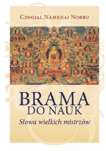 Okładka książki Brama do nauk. Słowa wielkich mistrzów