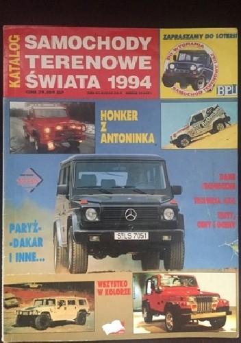Okładka książki Samochody terenowe świata 1994