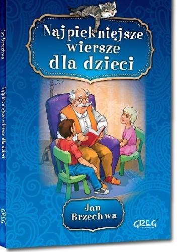 Okładka książki Jan Brzechwa - Najpiękniejsze wiersze dla dzieci