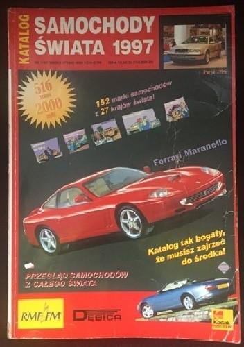 Okładka książki Samochody świata 1997