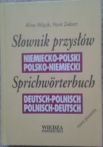 Okładka książki Słownik przysłów