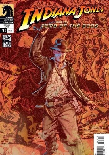 Okładka książki Indiana Jones and the Tomb of the Gods #3