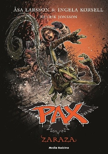 Okładka książki Pax. Zaraza