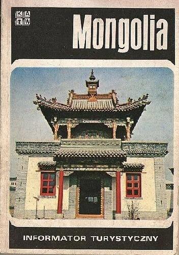 Okładka książki Mongolia. Informator turystyczny