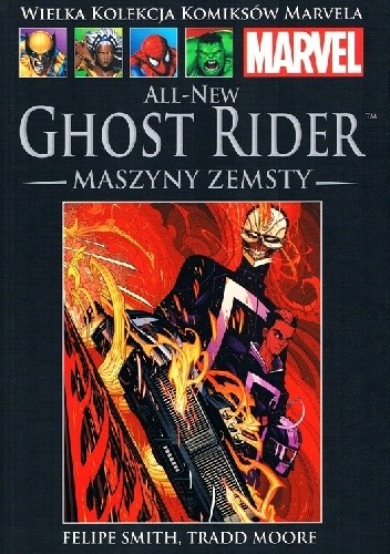 Okładka książki All-New Ghost Rider: Maszyny Zemsty