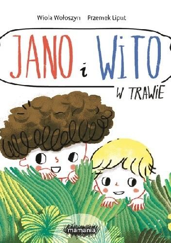 Okładka książki Jano i Wito. W trawie