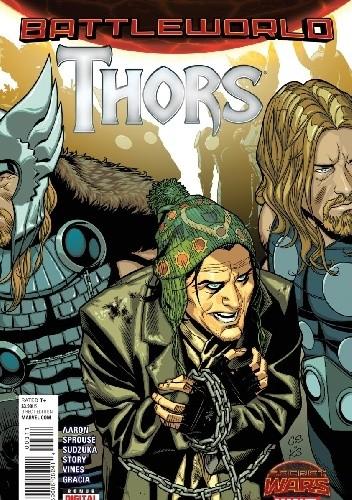 Okładka książki Thors #3