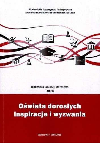 Okładka książki Oświata dorosłych. Inspiracje i wyzwania