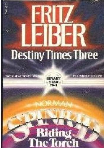 Okładka książki Destiny Times Three / Riding the Torch