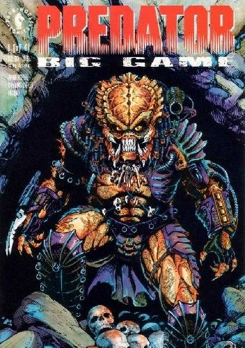 Okładka książki Predator: Big Game #1
